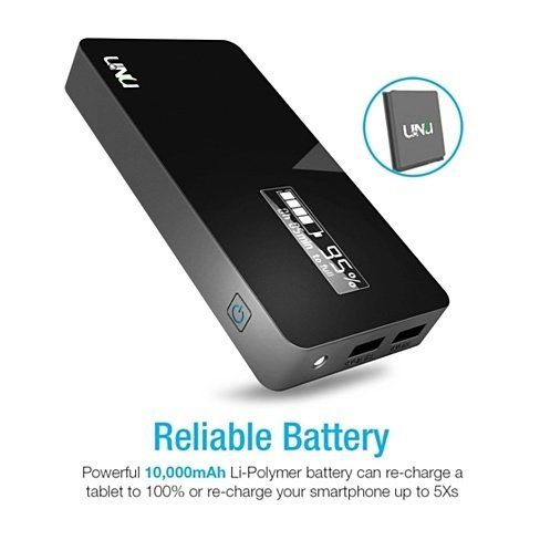 The UNU Superpak is the 10000mAh 3.1A battery pack for any