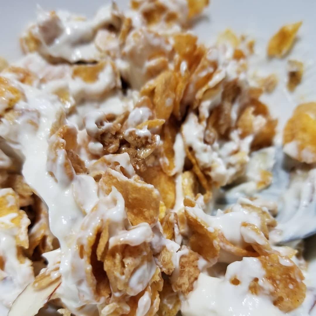 Greek Honey Yogurt Crisp Almond Oats Cereal And My