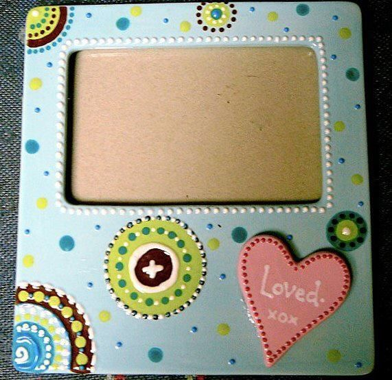 Color Your Own Picture Frame