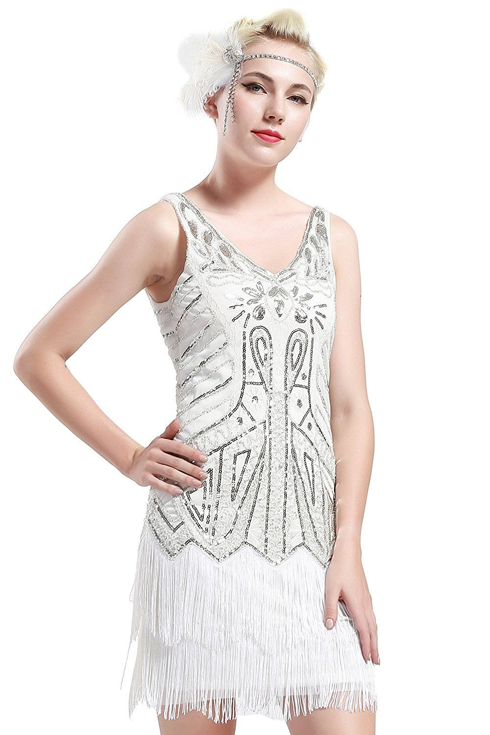 Vintage short dress gatsby cocktail in products pinterest