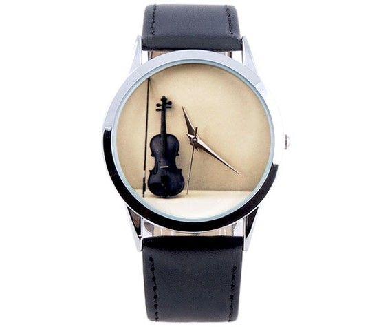 Violin Watch for Women - Women Watches - Music Teacher Gift - Womens ... 2a8e07b340