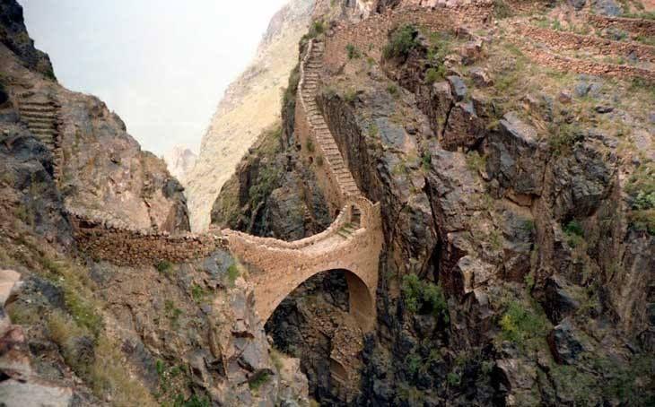 Puente de Shahara, Yemen