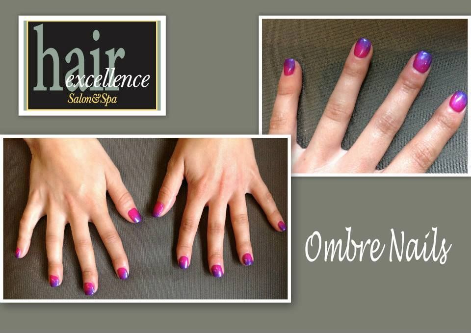 Jamie Ombre nails, Nails, Jamie