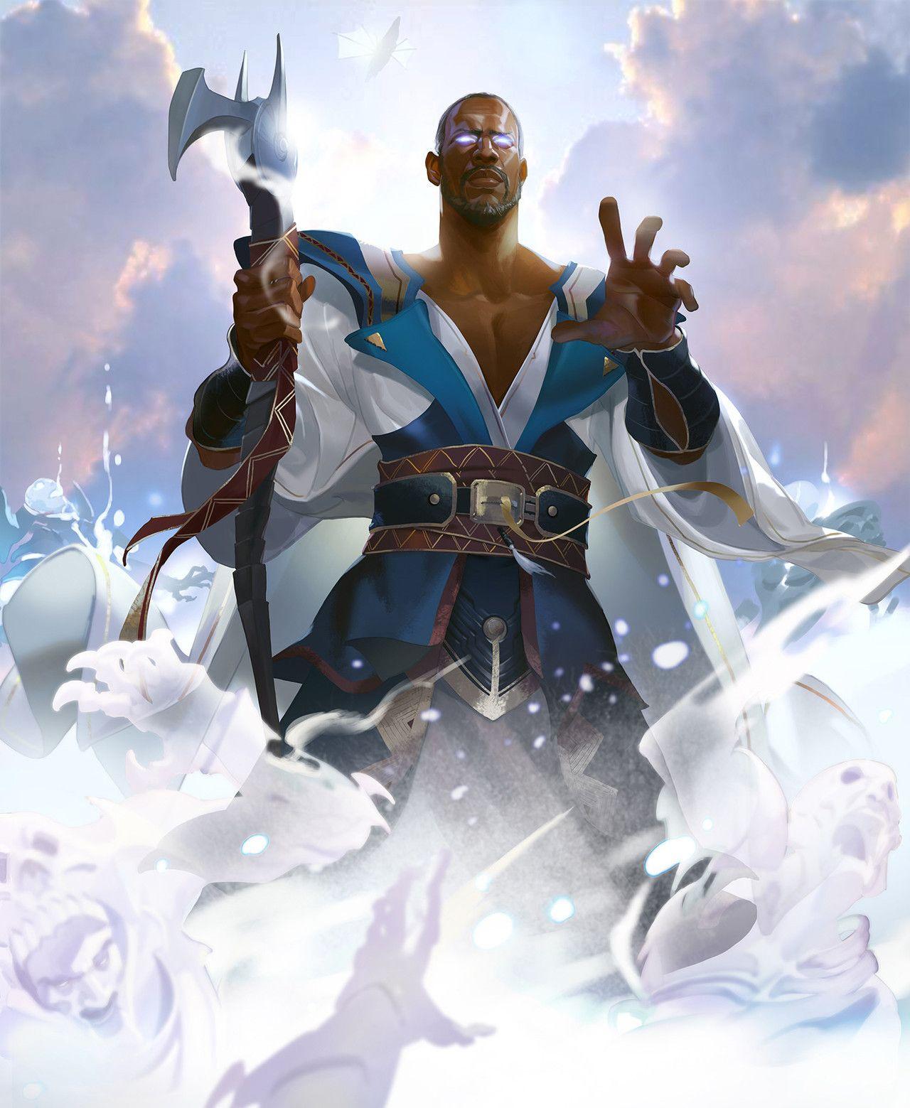 Men of Color In Fantasy Art — Teferi, Hero of Dominaria by ...