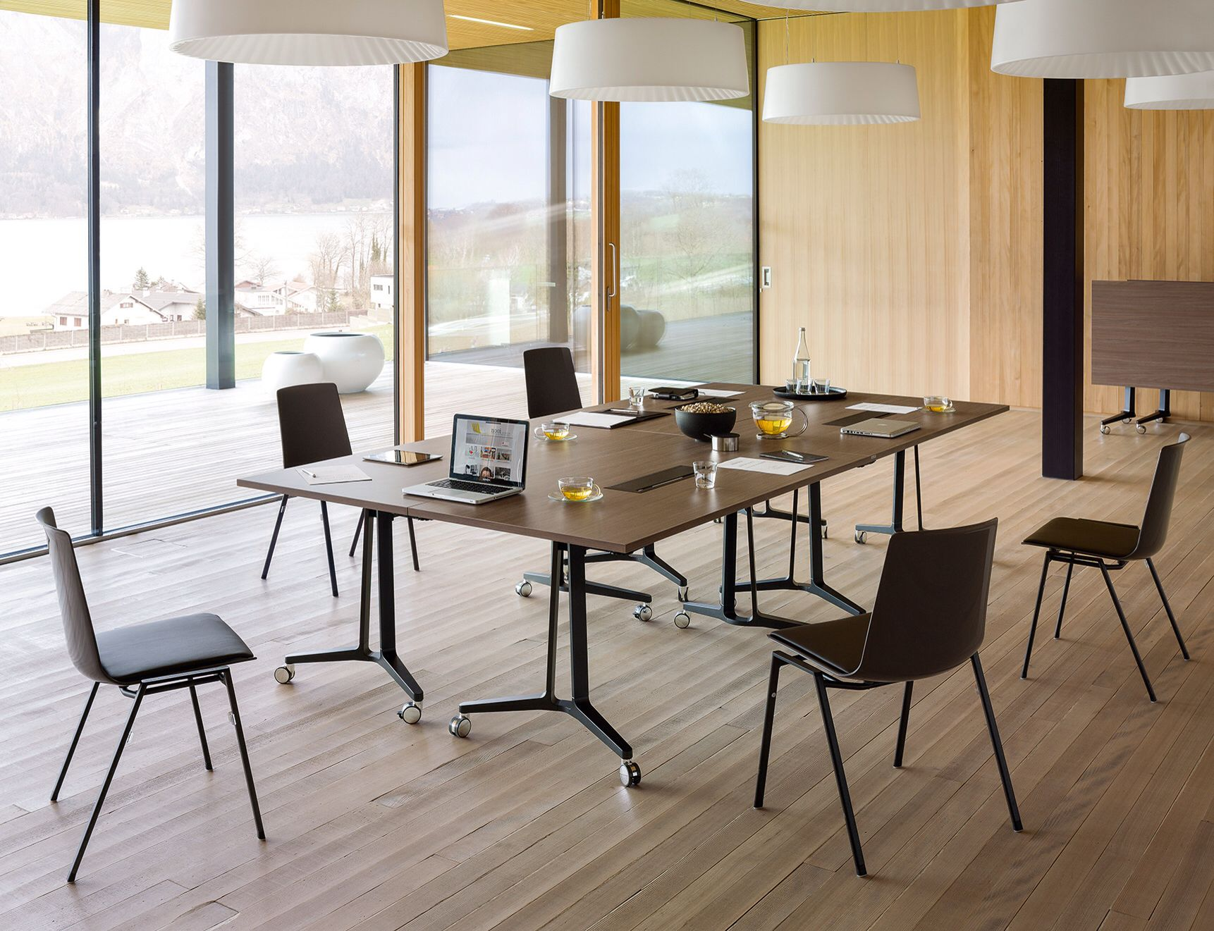 skill tables and nooi chairs by wiesner hager wiesner hager pinterest. Black Bedroom Furniture Sets. Home Design Ideas