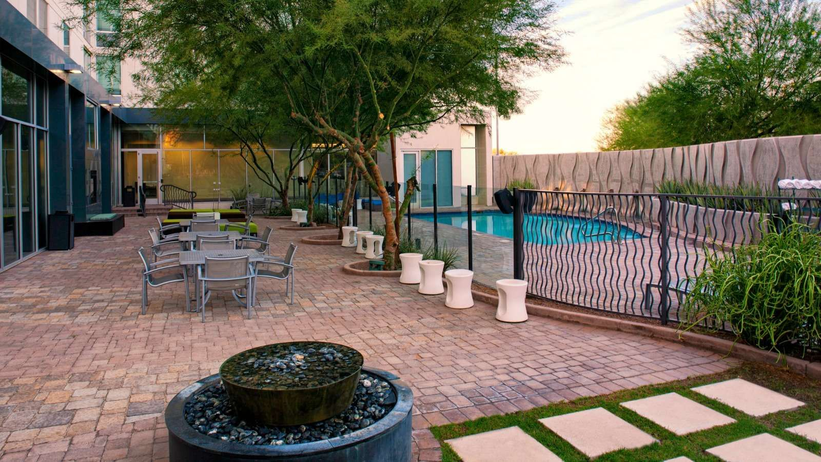 Aloft Tempe Backyard Backyard, Patio, Hotels near