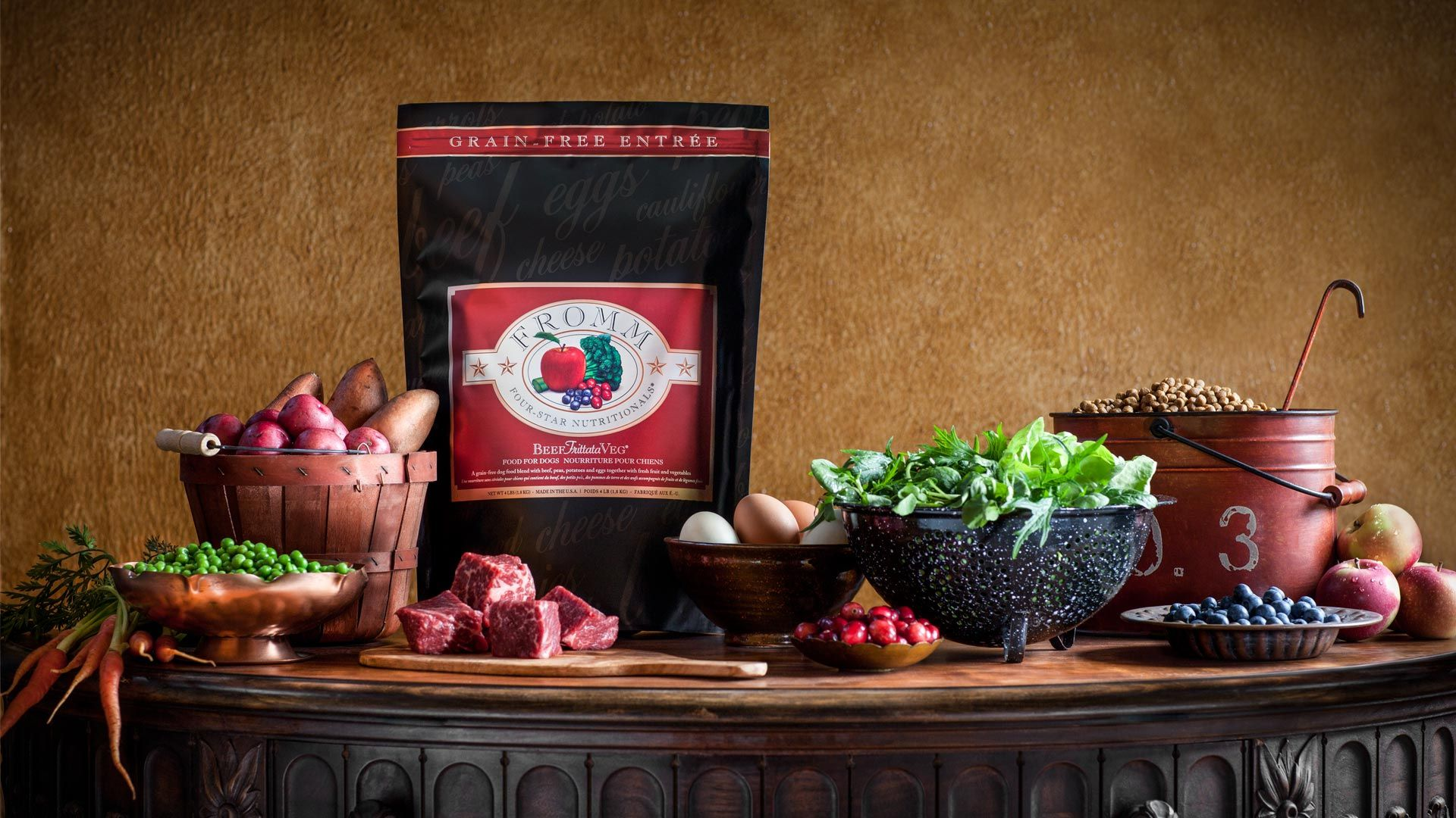 Four Star Dry Recipes For Dogs Fromm Family Foods Dog Food