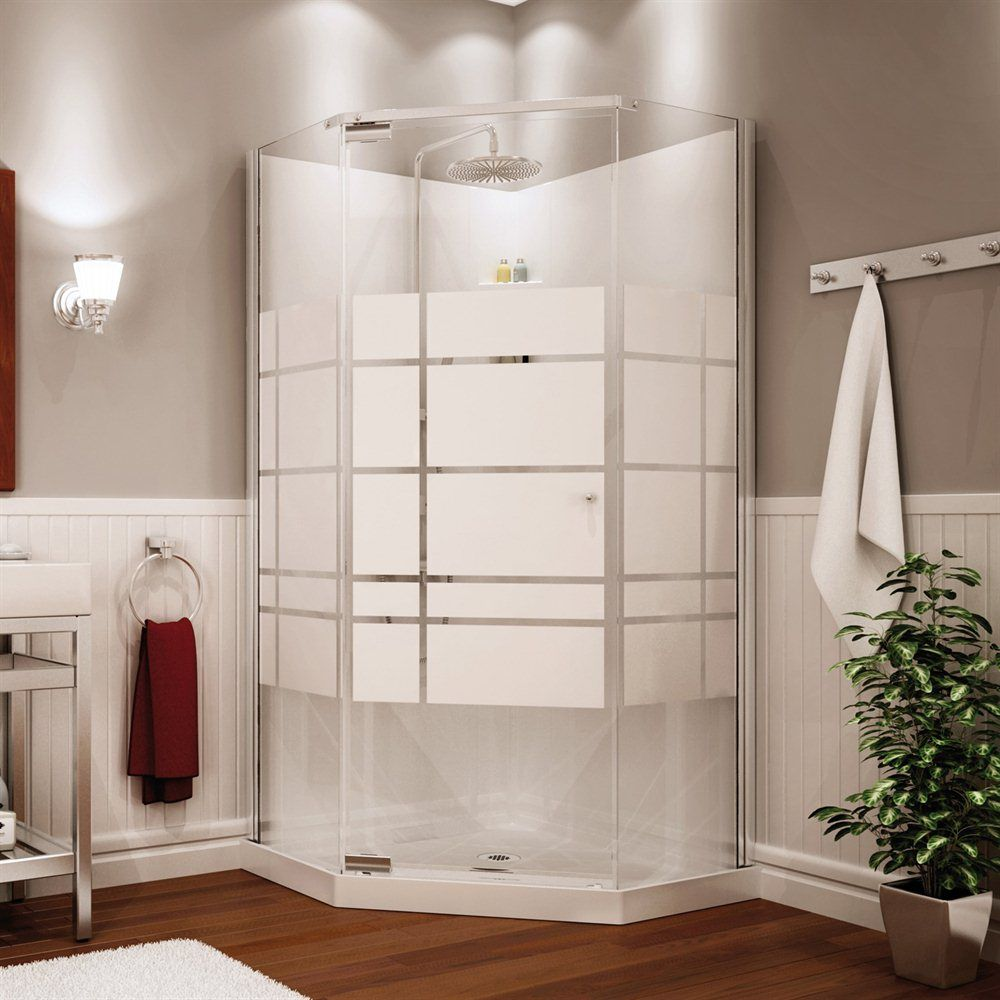 MAAX 105618 000 129 102 MAAX Shower solution Begonia 36 in SOHO. Sorrento 38 Inch Acrylic Neo Angle Shower Stall   shower kits