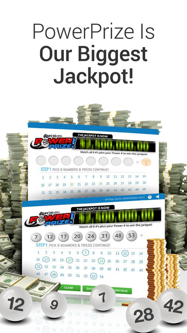 PCH Lotto Real Cash Jackpots on the App Store Lotto