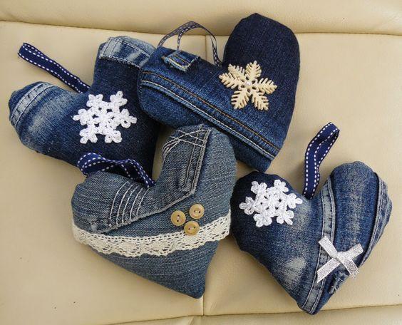 74 Tolle DIY Ideen, um alte Jeans zu recyceln - Beste Dekoideen