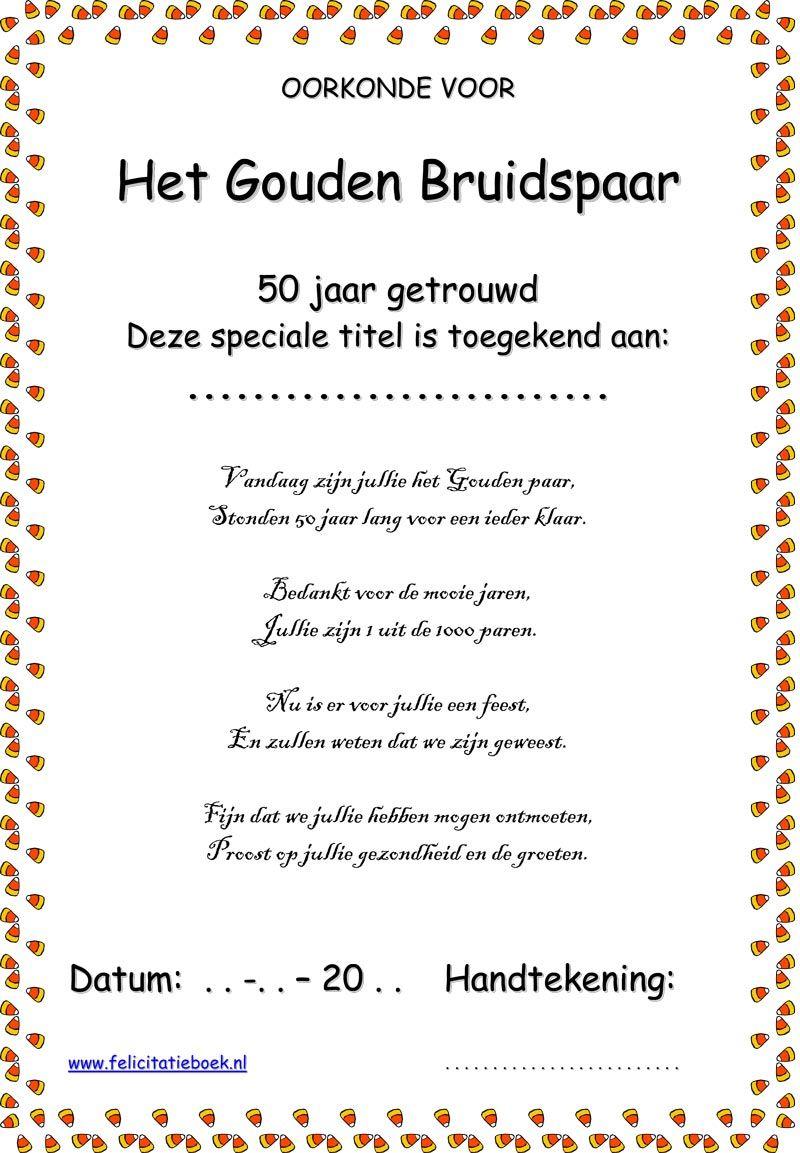 gedichten 50 jaar huwelijk humor Gedicht 50 Jaar Huwelijk Humor   ARCHIDEV gedichten 50 jaar huwelijk humor