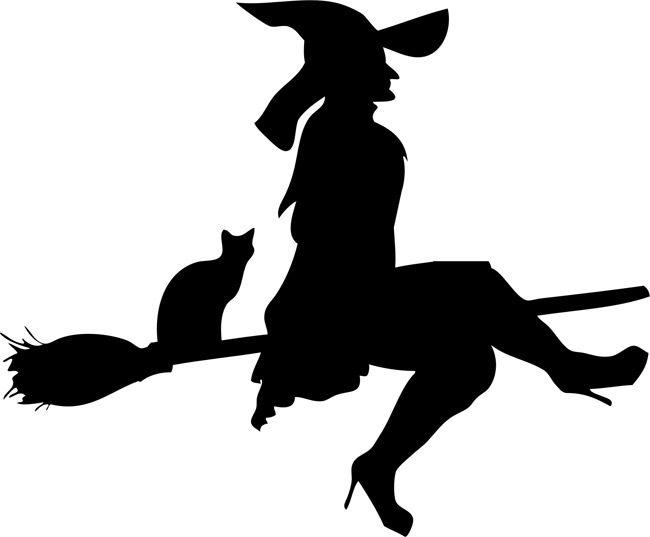 halloween stencils flying witch 01 halloween stencils stencileasecom - Flying Halloween Witch