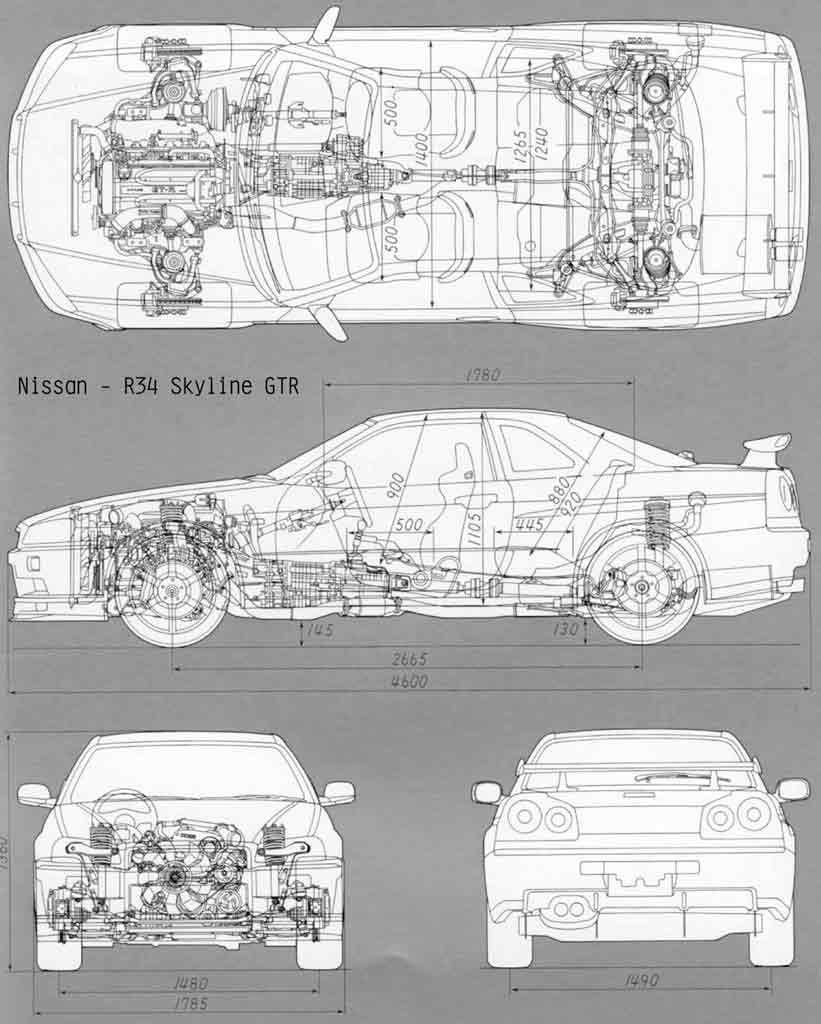 Nissan Gtr Skyline