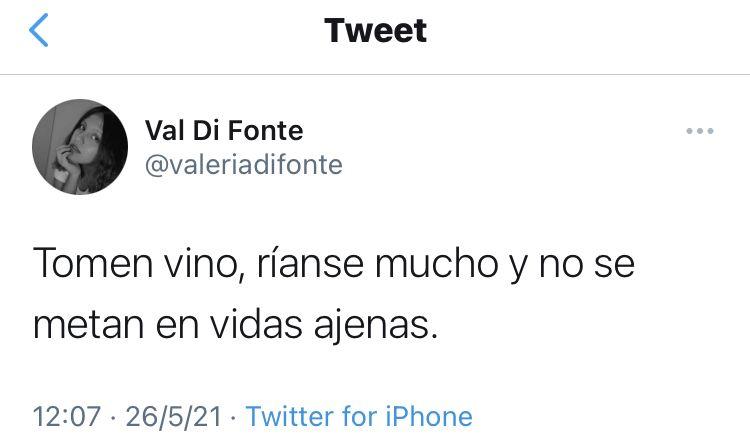 @valeriadifonte on Twitter