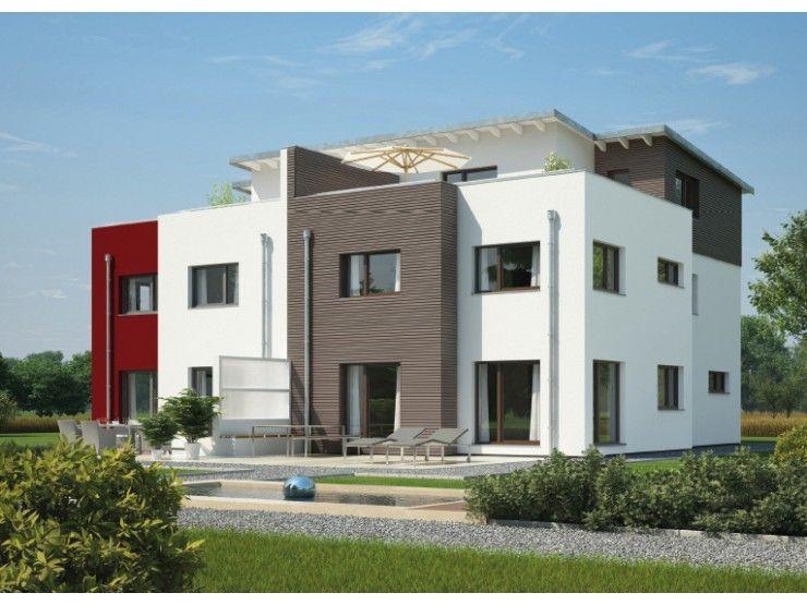 doppelhaus 144 doppelhaus von hanse haus gmbh. Black Bedroom Furniture Sets. Home Design Ideas