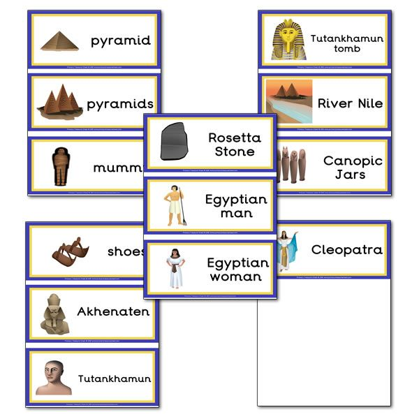 Ancient Egypt Lesson Poster   Resources on Ancient Egypt - The ...