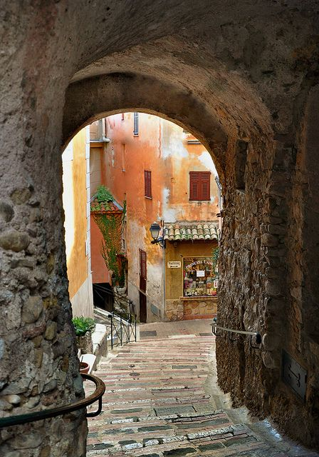 Ancient passage - Roquebrune, France