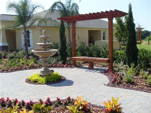 Images Of Florida Landscape Designs Orlando Florida Landscaping Irrigation And Landscape Desig Florida Landscaping Florida Gardening Landscape Design