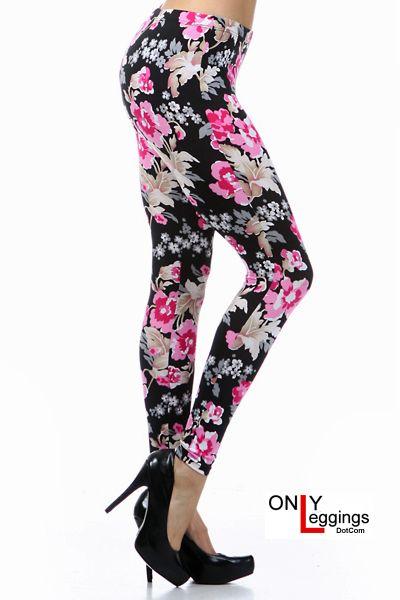 Love Me Flowers Leggings - $28.00