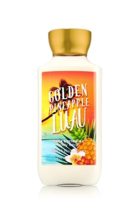 Golden Pineapple Luau Body Lotion Signature Collection Bath