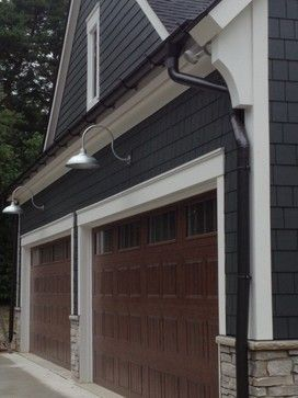 Aluminum Half Round Custom Seamless Gutters Craftsman Exterior Detroit By Great Lakes Gutter Inc Craftsman Exterior Seamless Gutters Farmhouse Exterior