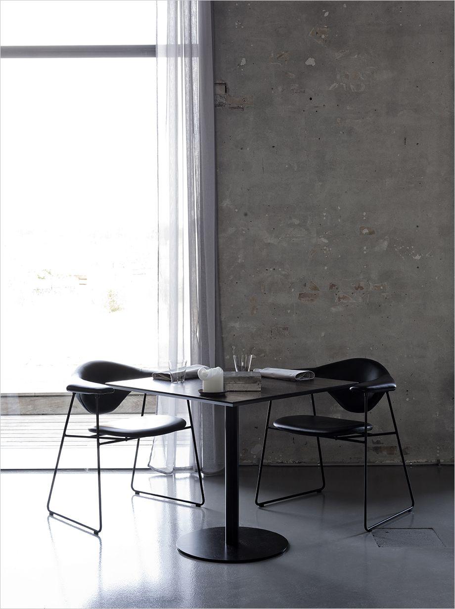 gubiofficial Masculo. Cafe furniture, table, cafe møbler