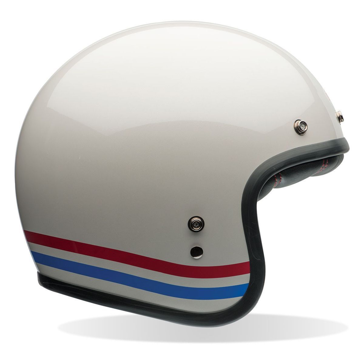 The first motorcycle helmet was co-developed in 1914 by a British doctor who ran the medical facilities at the Brooklands race track. After seeing countless head injuries caused by accidents during races he contracted a local man to build a hard shellac helmet with a slightly softer internal canvas lining. These early helmets weren't designed...
