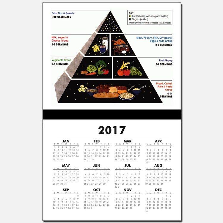 Nutrition Pyramid 2017 Health Food Calendars Health Food