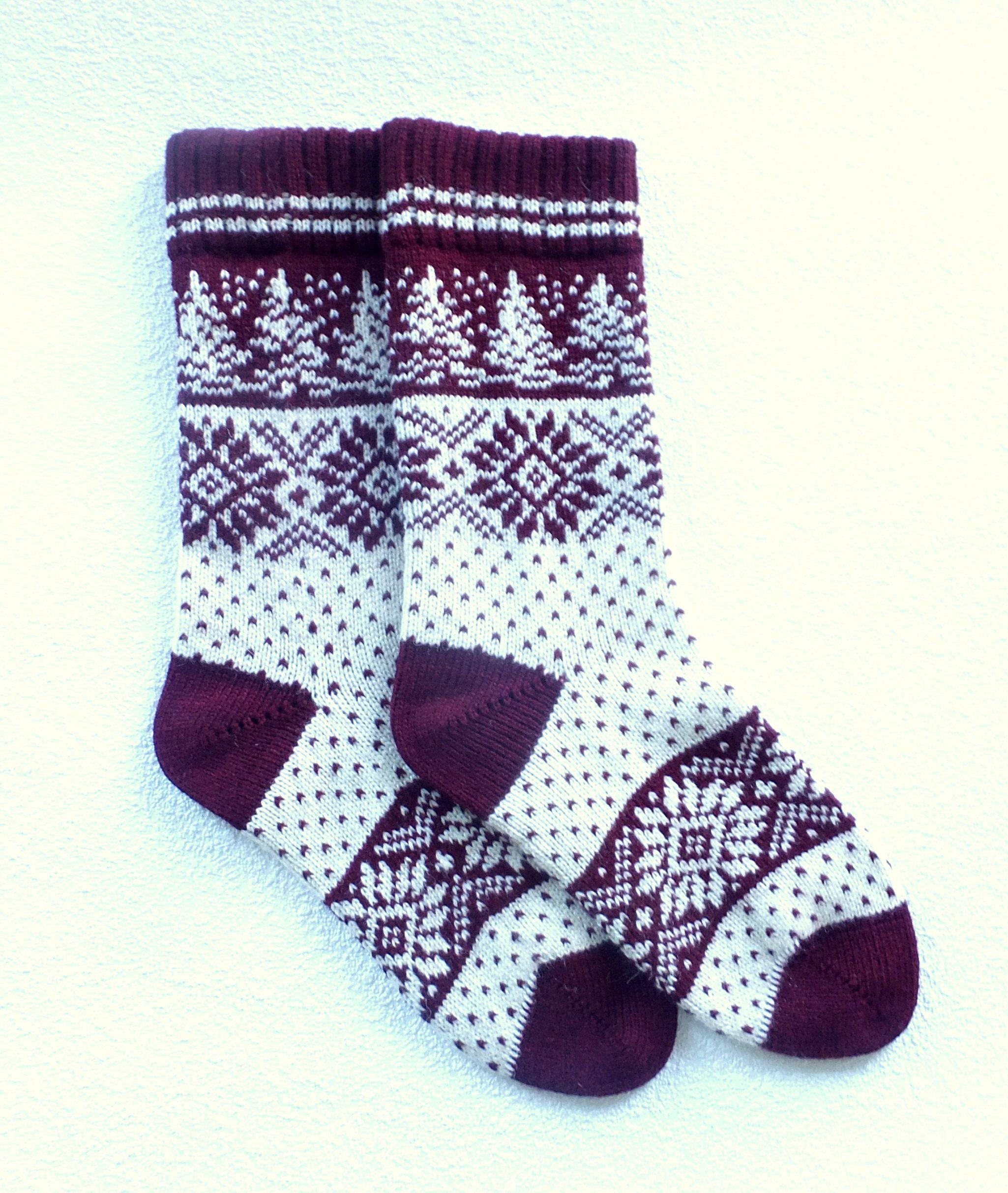 Christmas Wool Socks Gift for Women Wool Socks Women Socks Knitted Socks Christmas Socks for Women Christmas Socks Christmas Gift