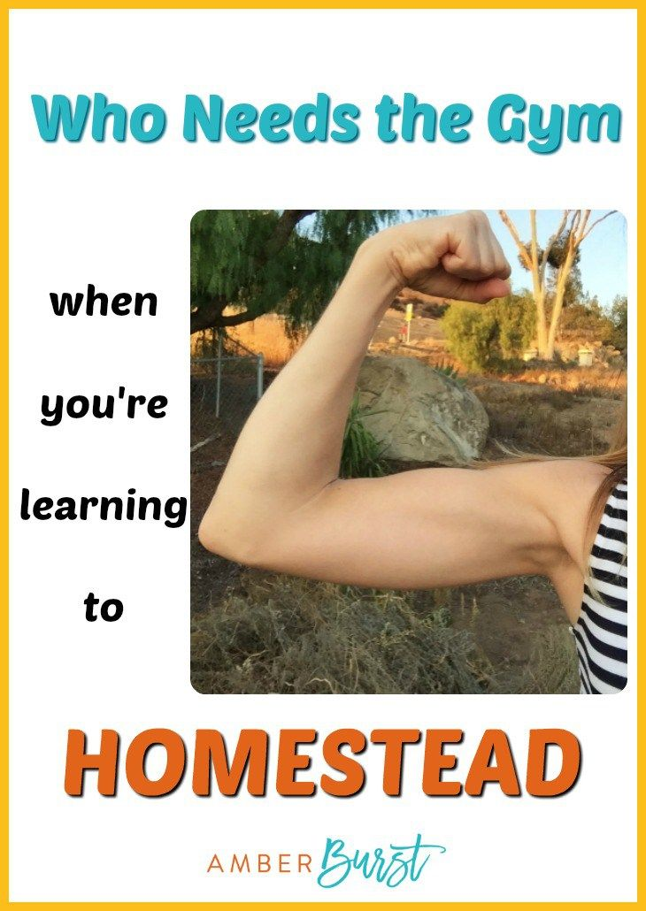 Homesteading Workout