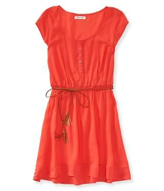 XS coral dress- spring/summer Victoria
