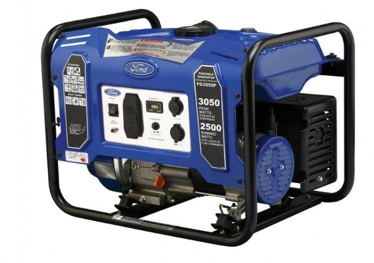 Portable Generator Emergency Power Storm Damage Gasoline