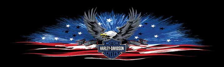 Harley davidson freedom banner rear window graphic part rwghd135 see thru harley davidson rear window graphics harley davidson window decals