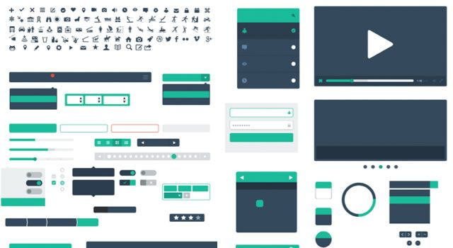 40 free ui kits and templates for sketch wireframe sketches shapes library for sketch template malvernweather Choice Image