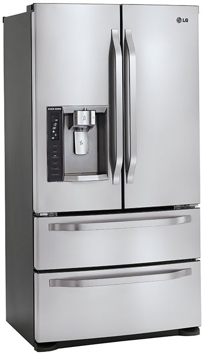 Lg Studio Series Refrigerator With Double Drawer Freezer
