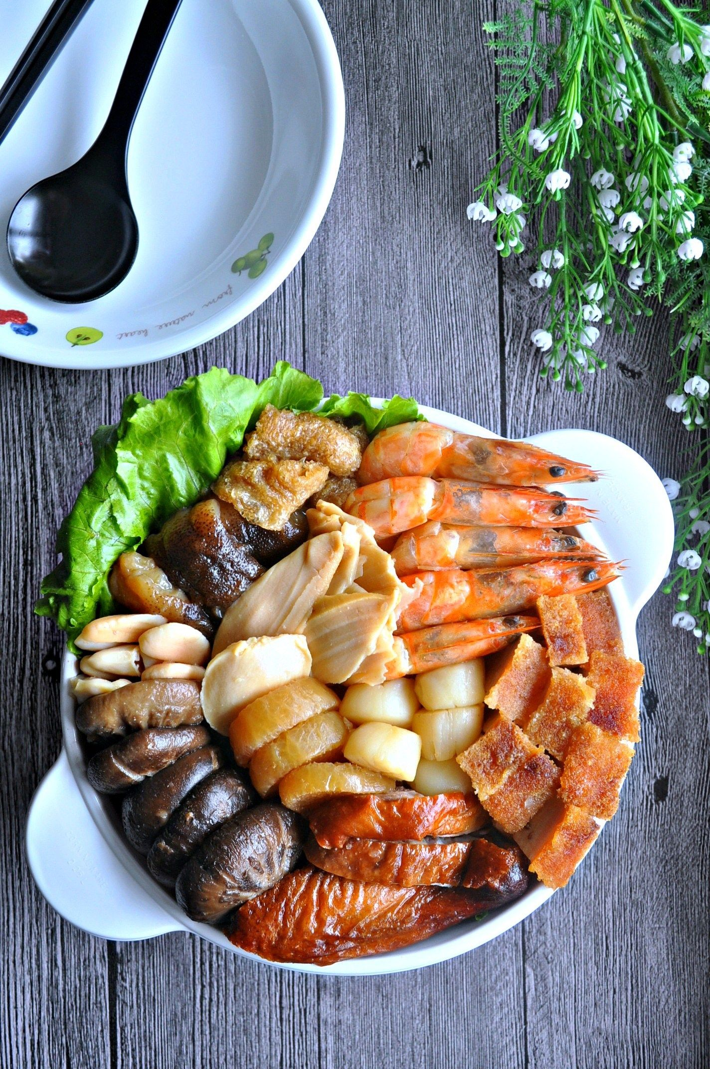 Pen Cai 盆菜 Recipe (With images) Seafood recipes