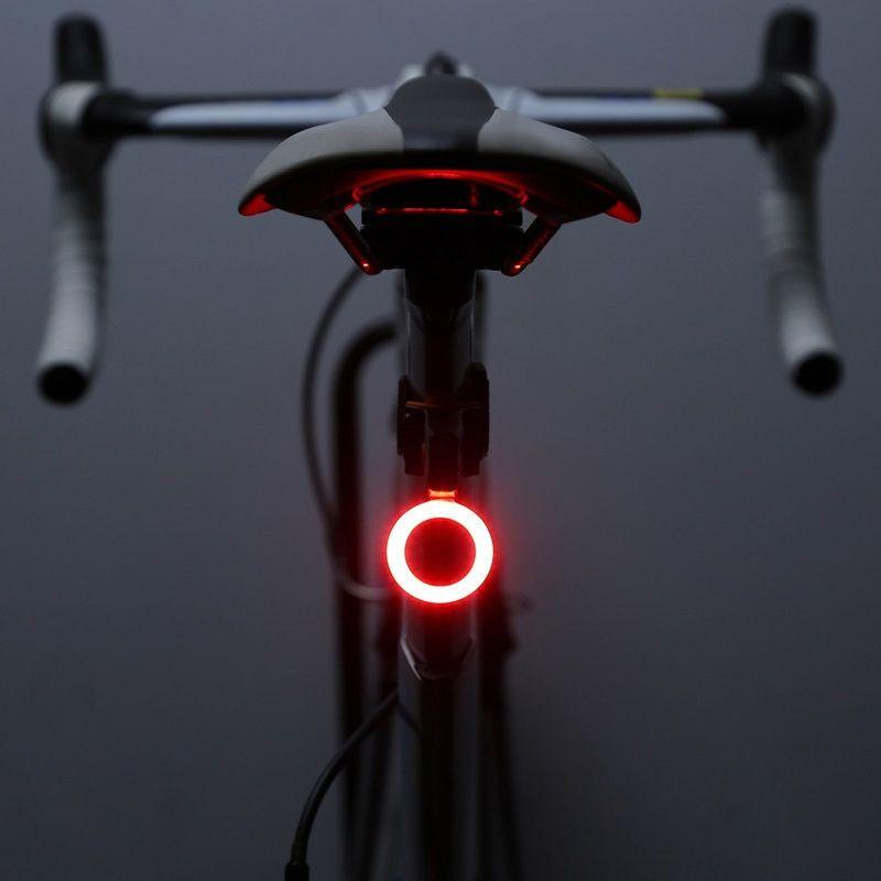 Zacro Multi Lighting Modes Bicycle Light Usb Charge Led Bike Light