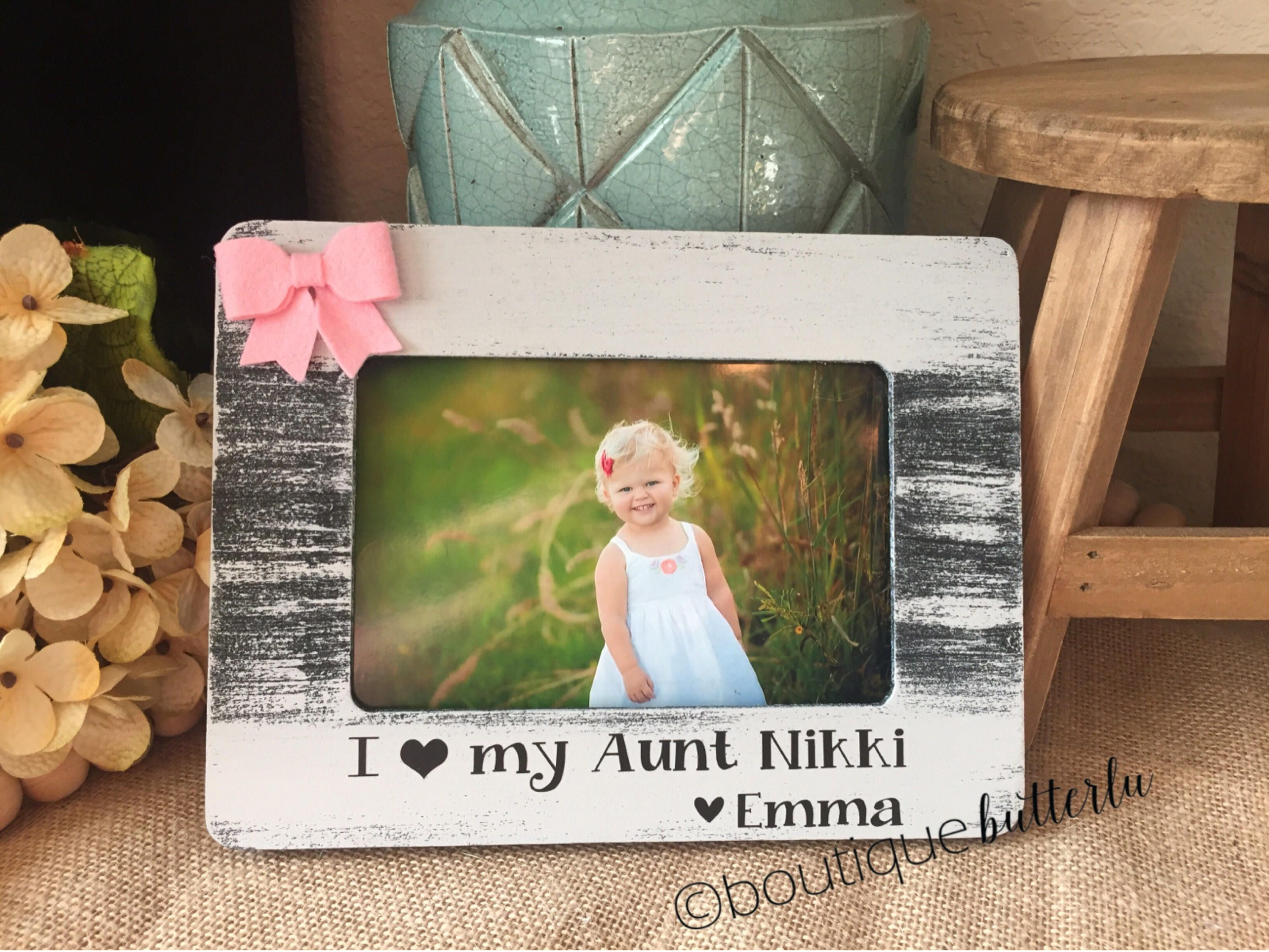 Aunt Gift Aunt Picture Frame Auntie Sister Gift Frame Great Aunt ...