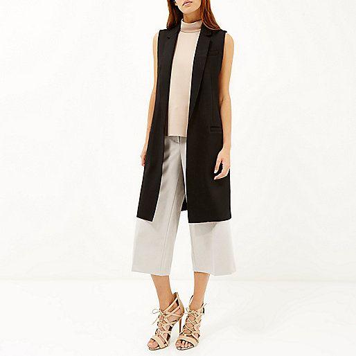 Sleeveless jacket womens pinterest