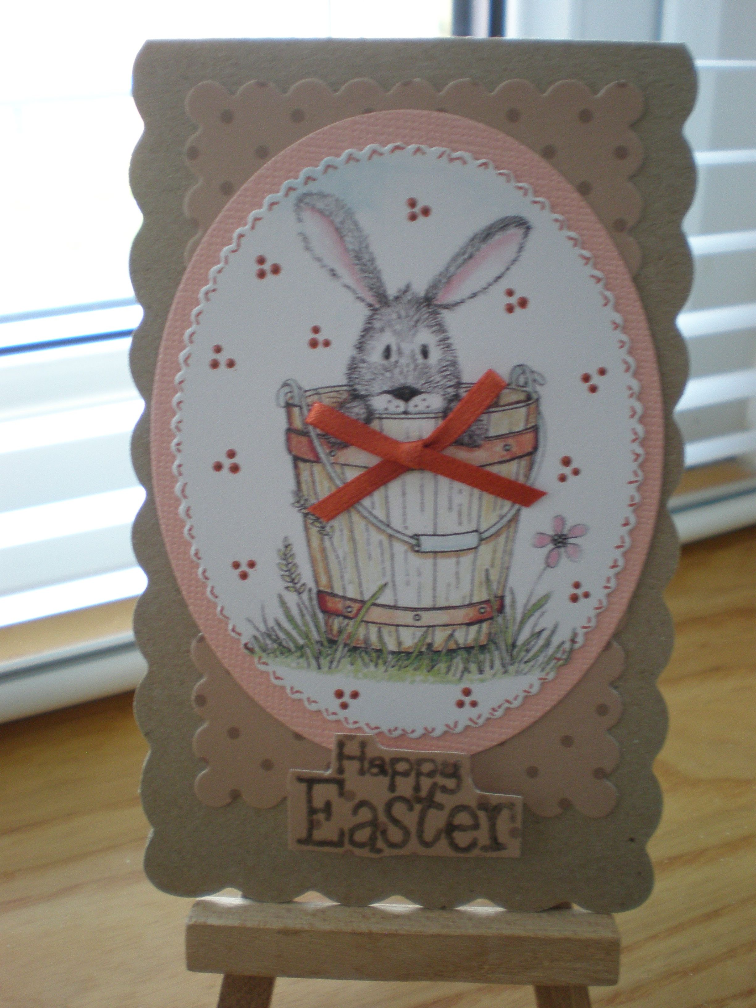 Easter Bunny From Craftwork Cards Craftyhearts