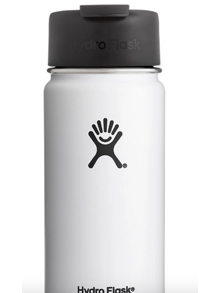 Hydro Flask 16oz Wide Mouth Flip Lid White Papa S General Store Flask Hydroflask Lidded