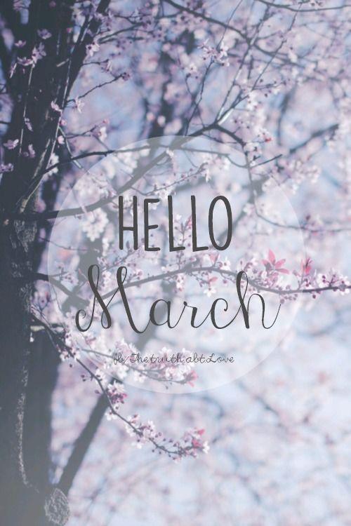 Perfect Hello March. Wallpaper ...