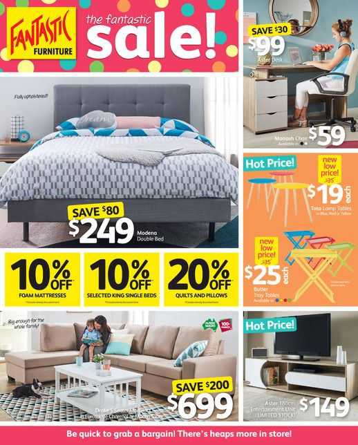 Fantastic Furniture Catalogue 28 August   24 September 2017   Do you know  what s in and what s hot in the Fantastic Furniture australia for this week. Fantastic Furniture Catalogue 26 December   29 January 2017   http