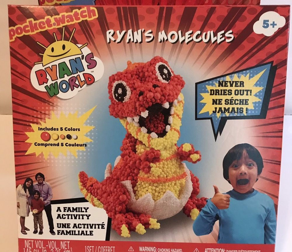 Ryan S World Toy Review Ryans Molecules Baby T Rex Create Never Dries Out Craft Spark Ryan Toys Birthday Toys Dino Toys