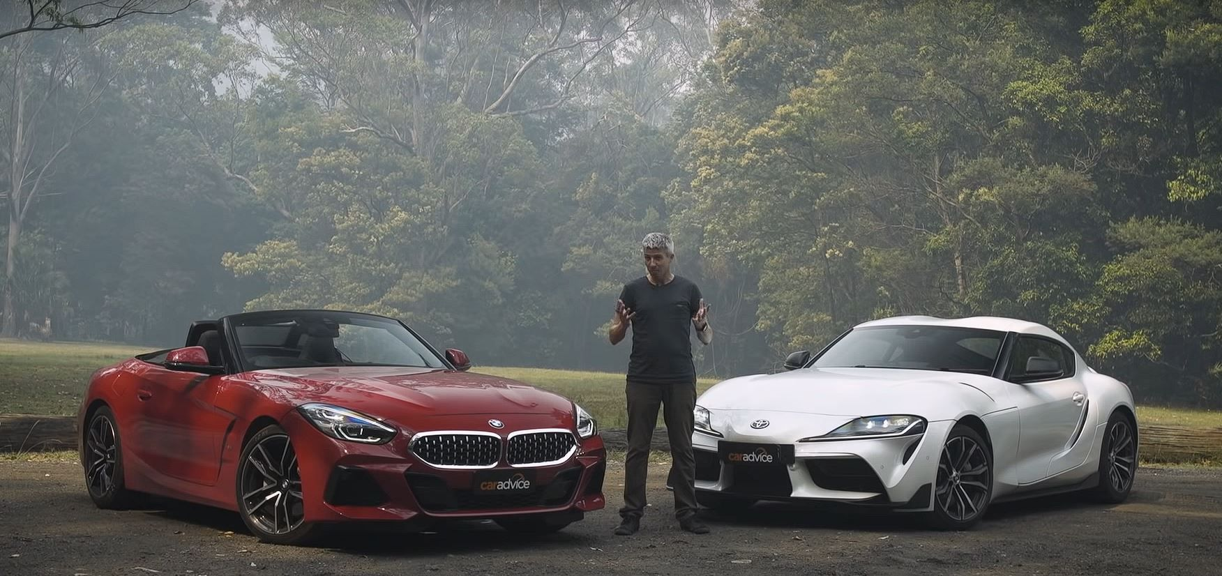 Video Bmw Z4 Sdrive20i And Toyota Supra Compared In Australia In 2020 Bmw Z4 Toyota Supra Bmw