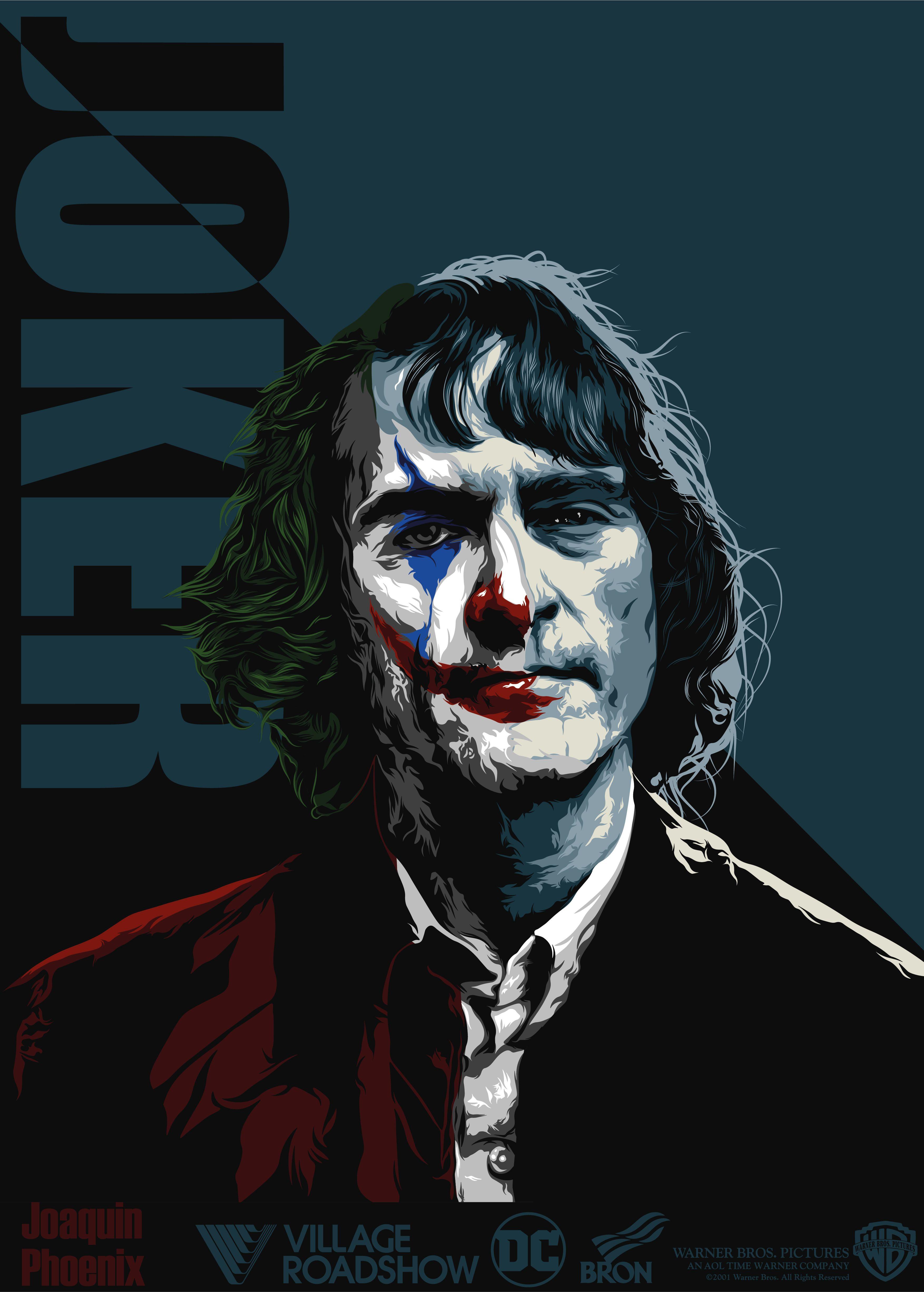 Joaquin Phoenix Joker Illustration In 2020 Illustration Graphic Design Illustration Illustration Design