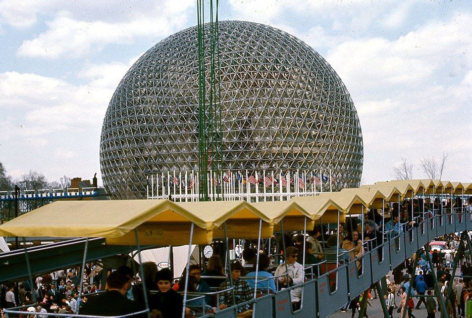 Built By R Buckminster Fuller For The 1967 World Fair Biosphere Is Located At Parc Jean Drapeau On Saint Helens Island Since 2007 Building Has