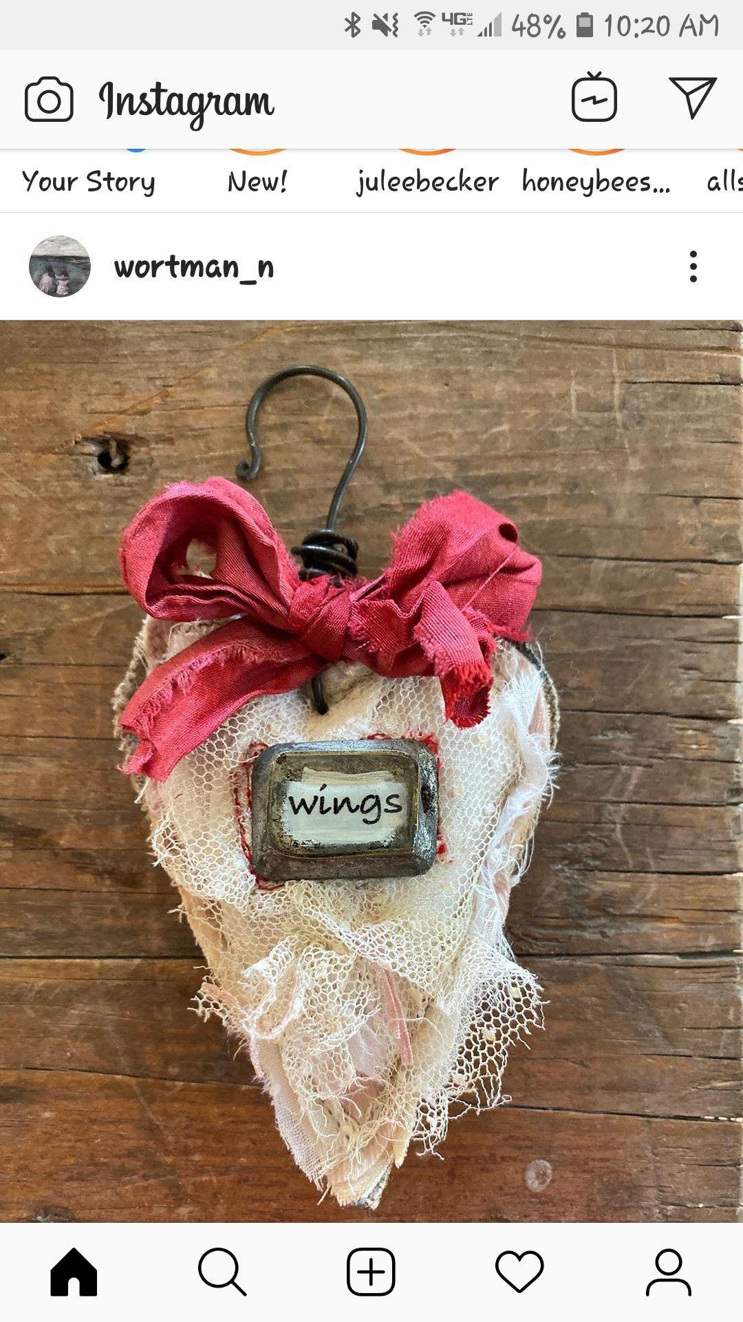 Pin by Karen Elliott on Craftyness Fabric heart, Online
