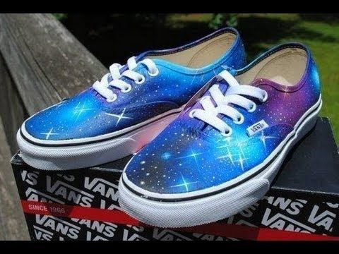 baskets vans galaxy