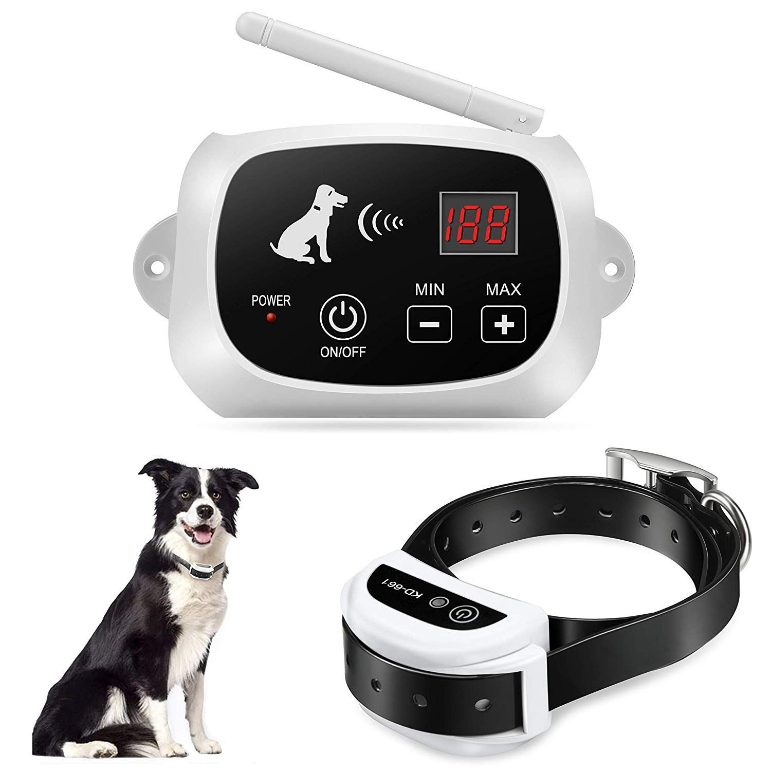 Focuser Electric Wireless Dog Fence System Pet Containment System For Dogs And Pets Wireless Dog Fence Dog Fence Training Collar